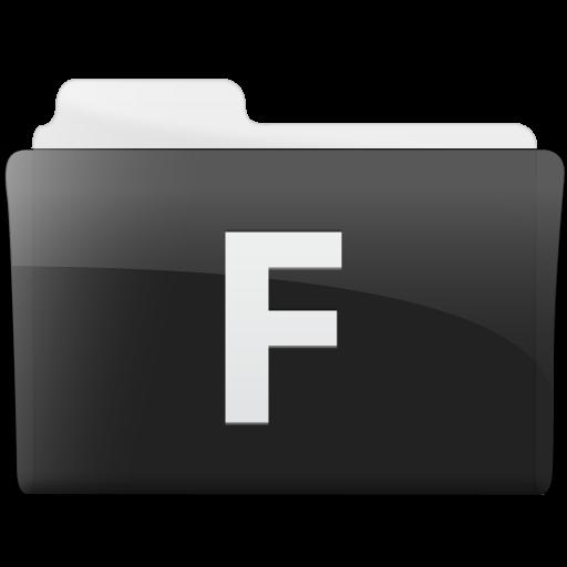 Folder Microsoft Frontpage Icon