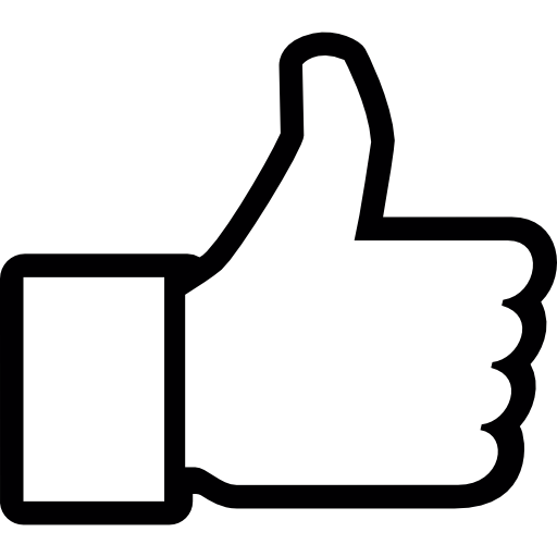 Thumb Up To Like On Facebook Icons Free Download