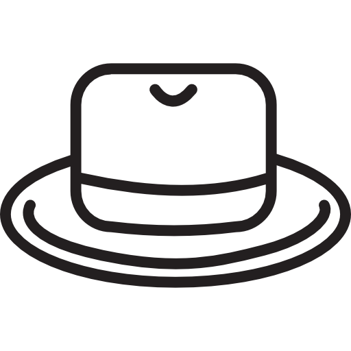 Masculine, Elegant, Fashion, Accessory, Cap, Fedora Icon