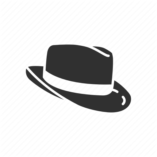 Cap, Fedora, Fedora Hat, Gangster Hat, Hat, Hipster Hat Icon