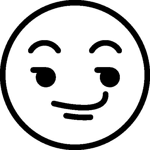 Smileys, Wink, Emoticons, Emoji, Feelings Icon
