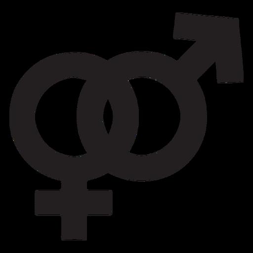 Gender Symbol Silhouette