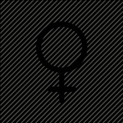 Female, Gender, Gender Symbol, Sex, Women Icon