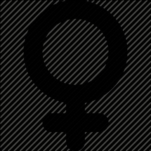 Female, Gender, Girl, Sex, Sign, Symbol, Woman Icon
