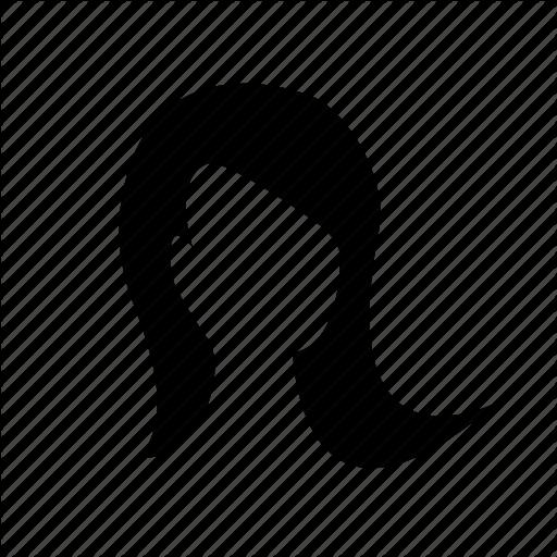 Face, Female, Girl, Long Hair, Portrait, User, Woman Icon