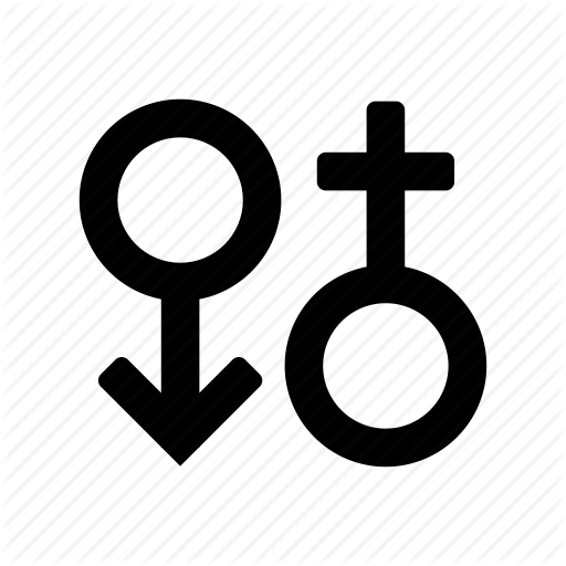 Female, Male, Man, Sign, Woman Icon