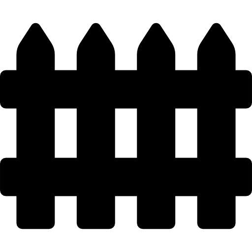Wooden Fence Icons Free Download