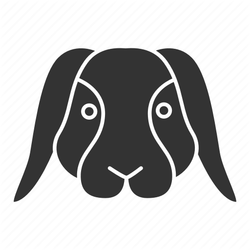 Animal, Bunny, Dwarf, Hare, Pet, Rabbit, Zoology Icon