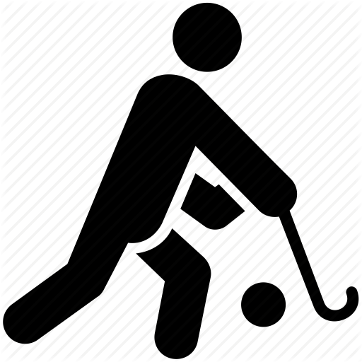 Field Hockey, Hockey, Olympic Game, Olympic Sports, Sports Logo Icon