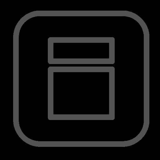 Square, Shape, Figure Icon