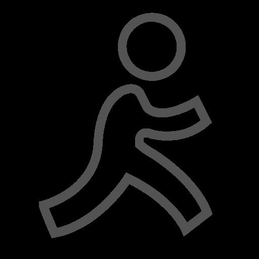 Social, Man, Stick, Brand, Figure Icon