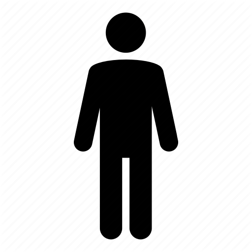 Character, Figure, Man, Person Icon