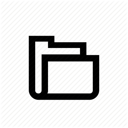 Document, Empty, File, Folder Icon