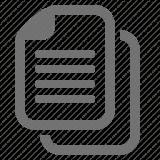 Copy, Data, Document, Duplicate, File, Paperwork, Paste Icon
