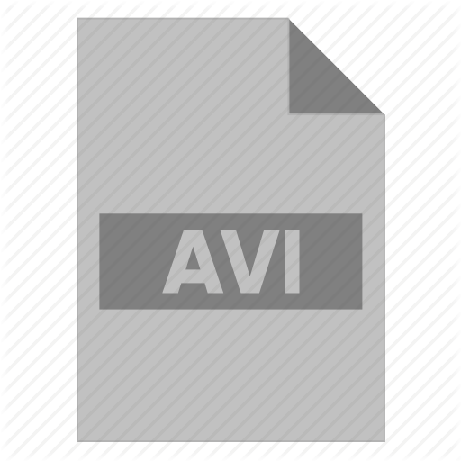 Avi, Document, Extension, File, Filetype, Format, Type Icon