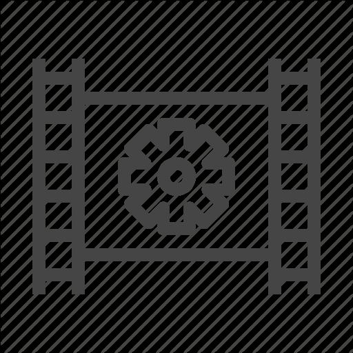 Editing, Film, Media, Multimedia, Music, Setting, Video Icon
