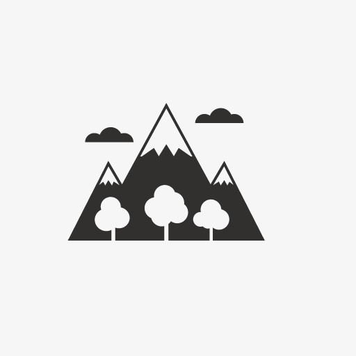 Woods Icon, Icon, Forest, Mountain Png Image And Clipart For Free