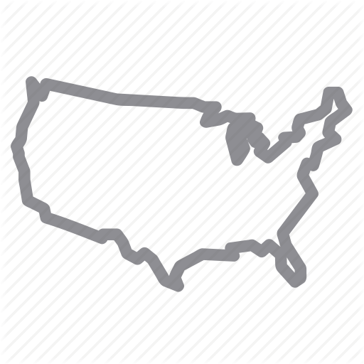 Us Map Icon Images Logo United States Logo Image