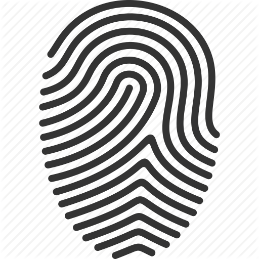 Biometric, Finger, Finger Print, Fingerprint, Print, Touch, Trace Icon