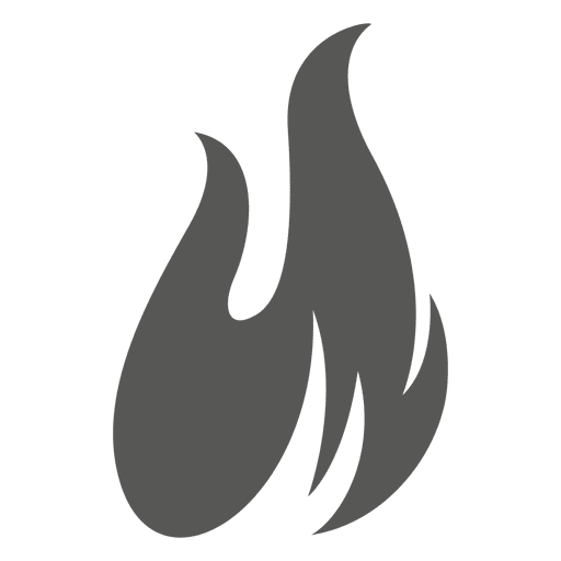 Fire Flame Silhouette Icon