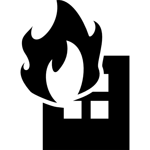 Building On Fire Icons Free Download