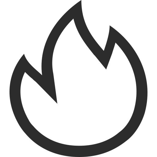Simple And Exquisite, Fire, Fire Place Icon With Png And Vector
