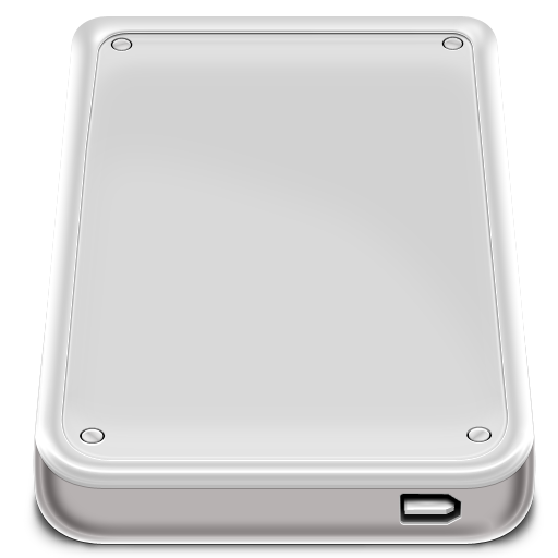 Hard Disk Firewire Icon Nod Iconset Rimshotdesign