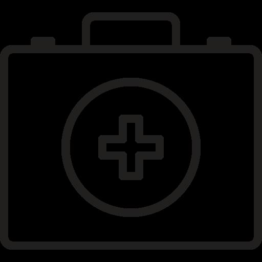 First, Aid, Box, Kit, Medical, Box Icon Free Of Medical Black Line