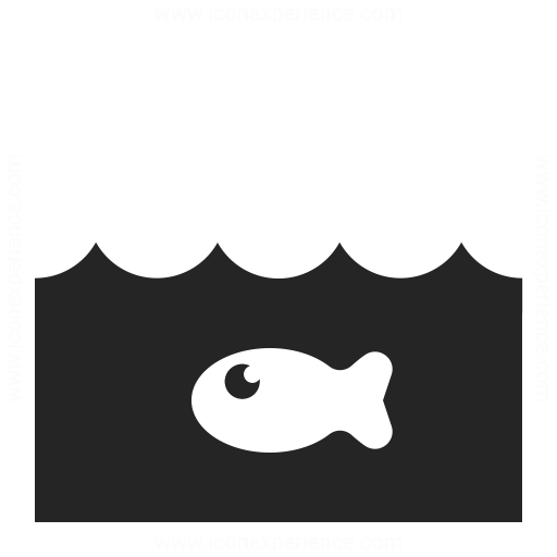 Water Fish Icon Iconexperience