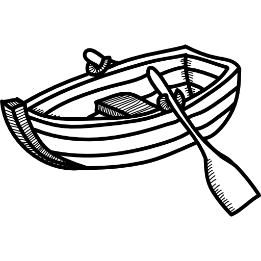 Rowing Boat Icons Free Download