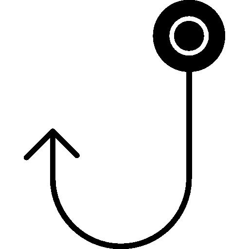 Fishing Hook Tool Icons Free Download
