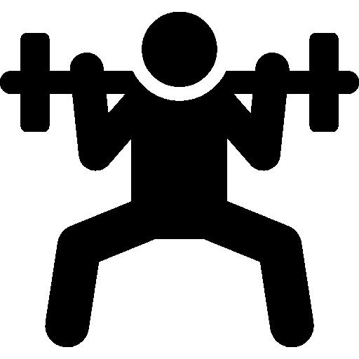People Fitness Black Icon