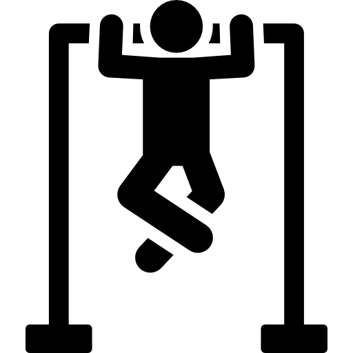 People Fitness Black Icon