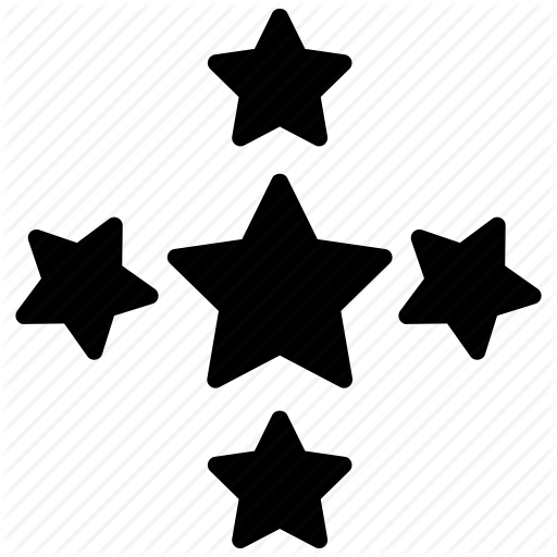 Five Pointed, Ranking Sign, Rating Star, Star Shape, Stars Icon