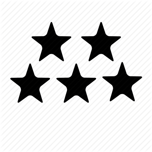 Building, Five, Five Star, Hotel, Room, Star Icon Icon