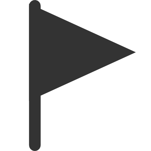 Filled, Flag Icon