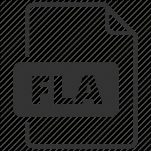Format, Fla, Flash Icon