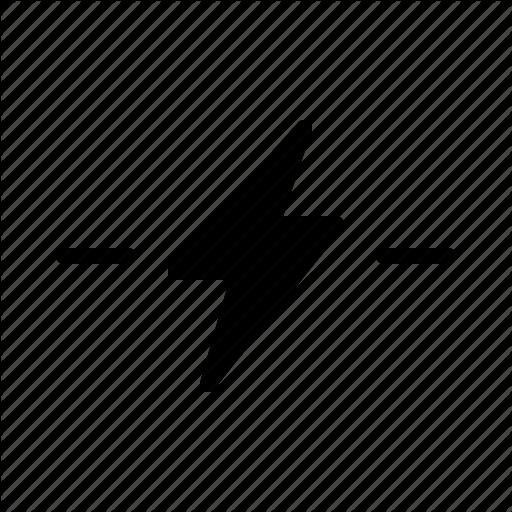 Bolt, Break, Disconnect, Disruptive, Flash Icon