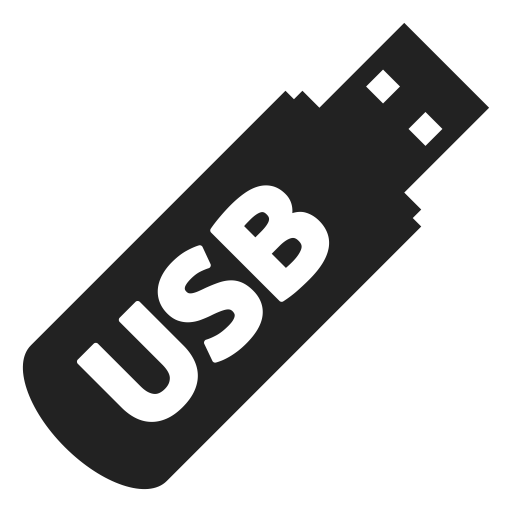 Flash, Key, Usb Icon