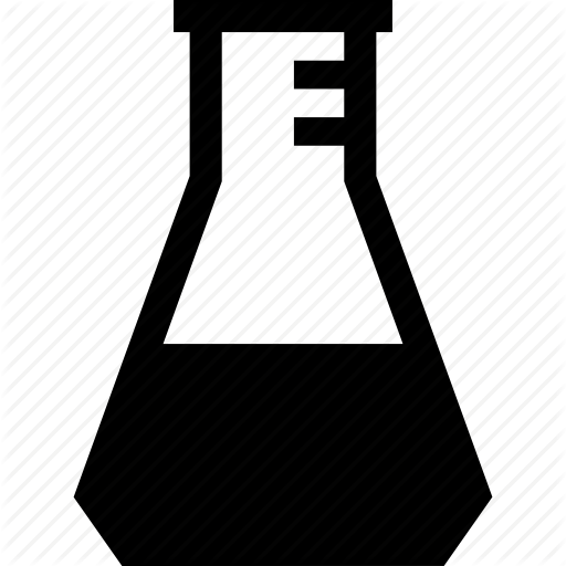 Conical Flask, Erlenmeyer Flask Icon