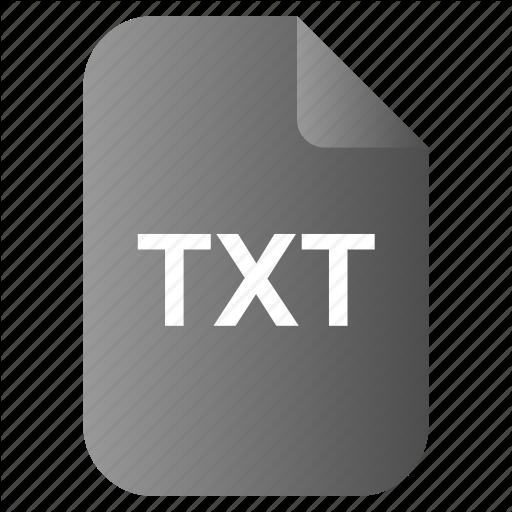 Doc, File, Text, Txt Icon