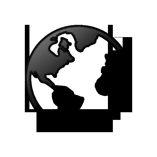 World Icon Flat Images