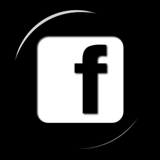 Black Facebook Icon Logo Png Images