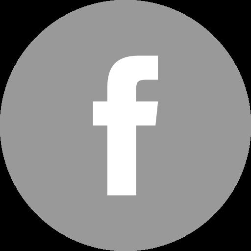 Social Media Facebook Flat Darkgray Icon