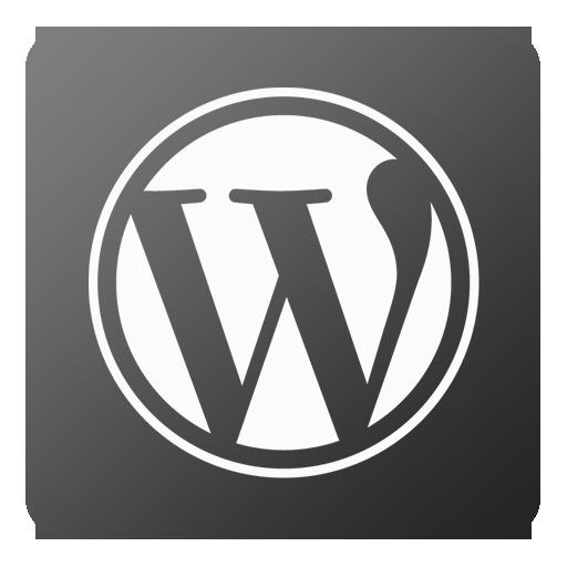 Wordpress Icon Flat Gradient Social Iconset Limav