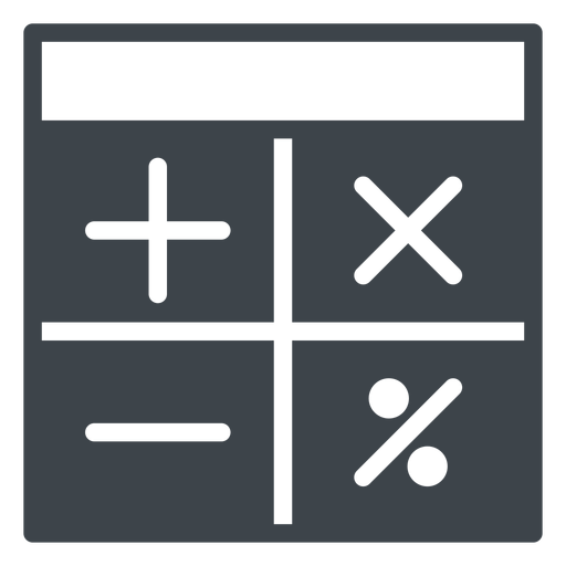 School Calculator Flat Icon