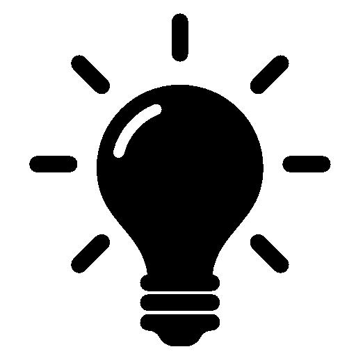 Idea, Bulb Flat Icon Free Flat Icons All Shapes, Colors
