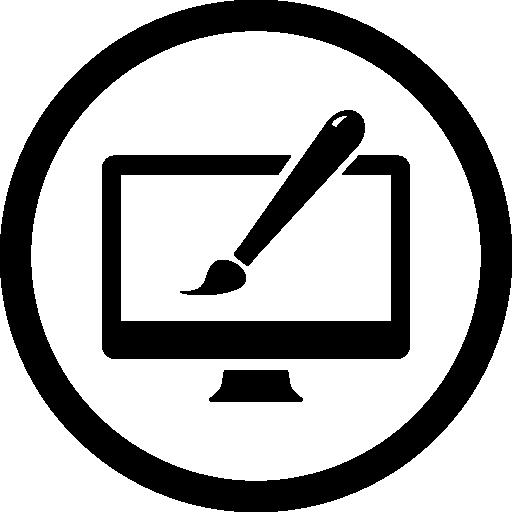 Web Circular Flat Icon