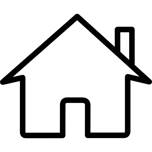 Web House Flat Icon