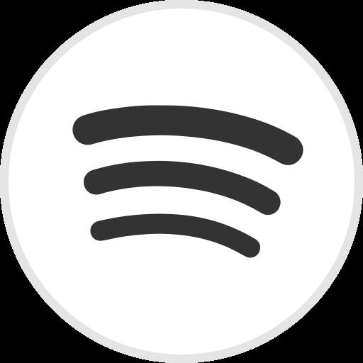 Social Media Spotify Flat Icon